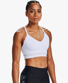 Damen UA Seamless Low Long Sport-BH