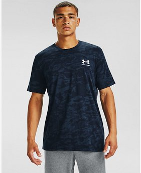 Men's UA ABC Camo Short Sleeve