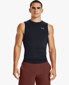 Men's UA RUSH™ HeatGear® 2.0 Compression Sleeveless