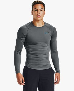 Men's UA RUSH™ HeatGear® 2.0 Compression Long Sleeve