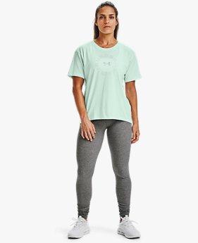 UAライブ ファッション ワードマーク グラフィック ショートスリーブ(トレーニング/WOMEN)