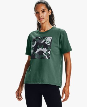 Women's UA Camo Graphic Short Sleeve