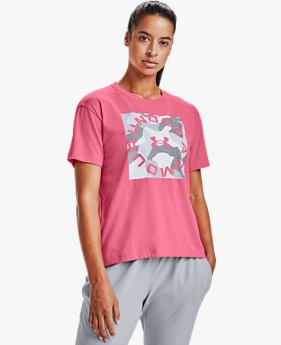 Women's UA Camo Graphic Short Sleeve
