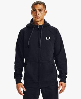 Men's UA Rival Fleece Full-Zip Hoodie