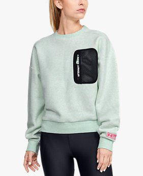Women's UA Summit Rival Fleece Crew