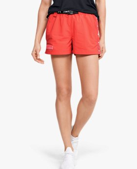 Short UA Summit Woven da donna