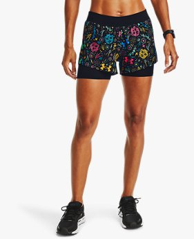 Women's UA Launch Day Of The Dead 2-in-1 Shorts