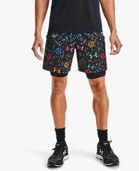 Men's UA Launch Day Of The Dead 2-in-1 Shorts
