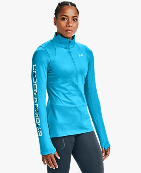 Women's ColdGear® Armour Graphic ½ Zip