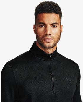 Maillot UA Storm SweaterFleece ½ Zip pour homme