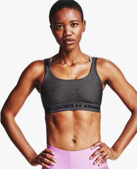 Women's Armour® Mid Crossback 2WH Sports Bra