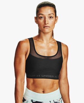 Women's Armour® Mid Crossback MF Sports Bra