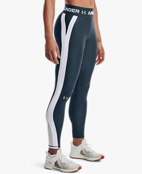 Women's HeatGear® Armour Wordmark Waistband Leggings