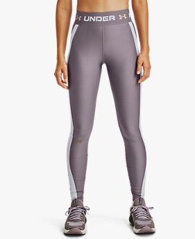 Leggings HeatGear® Armour Wordmark Waistband da donna