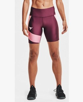 Women's Project Rock HeatGear® Bike Shorts
