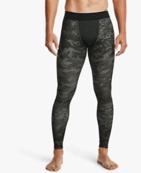 Men's ColdGear® Armour Printed Leggings