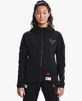 Women's Project Rock CNY Charged Cotton® Fleece Full Zip