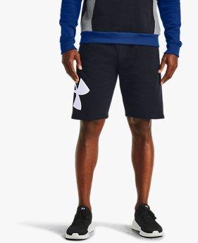 Men's UA Rival Fleece Logo Shorts