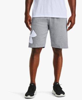 Shorts UA Rival Fleece Logo para Hombre