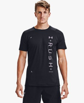 Men's UA RUSH™ HeatGear® 2.0 Graphic Short Sleeve