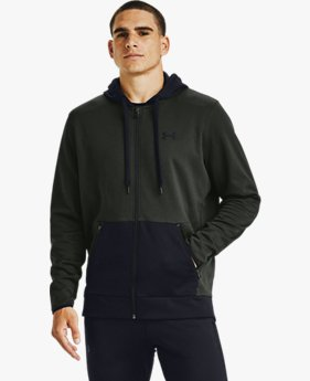 Men's Armour Fleece® Textured Full Zip Hoodie