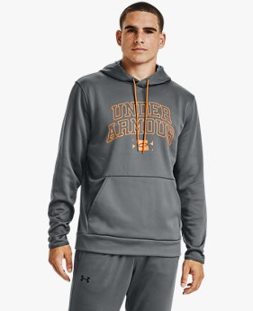 Men's Armour Fleece® Graphic Wordmark Hoodie
