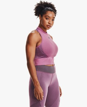 Women's UA RUSH™ Seamless Crop Top