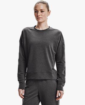 Women's UA Rival Terry Taped Crew