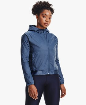 Women's UA Woven Reversible Full Zip