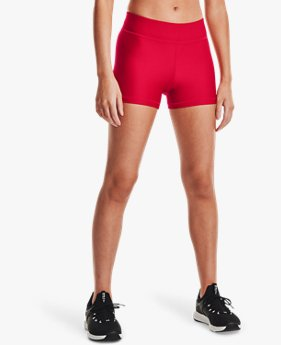 Pantalón corto HeatGear® Armour de talle medio para mujer