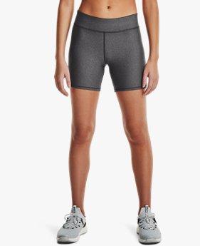 Shorts de Tiro Medio HeatGear® Armour Middy para Mujer