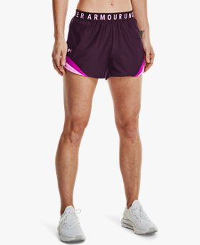 Women's UA Play Up 3.0 Tri Color Shorts