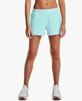 Women's UA Play Up 3.0 Emboss Shorts