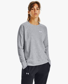 Women's UA Rival Terry Crew