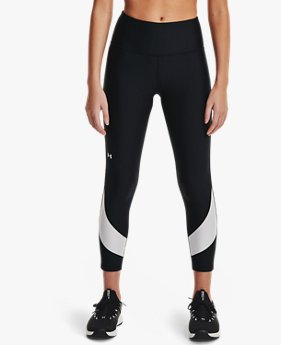 Women's HeatGear® Armour No-Slip Waistband Taped Ankle Leggings