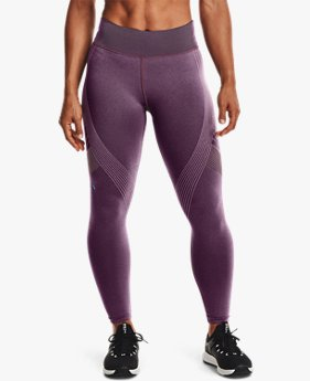 Damen UA RUSH™ Seamless 7/8-Leggings