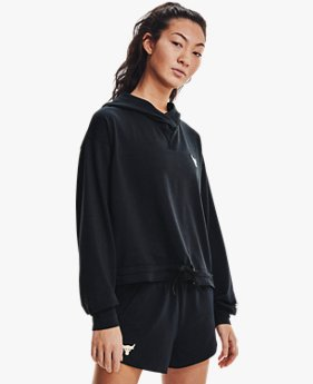 Women's Project Rock Terry Hoodie