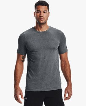 Men's UA RUSH™ Seamless Strength Short Sleeve