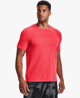 Men's UA RUSH™ Seamless Strength Short Sleeve