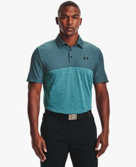 Herren UA Vanish Seamless Poloshirt in Blockfarben