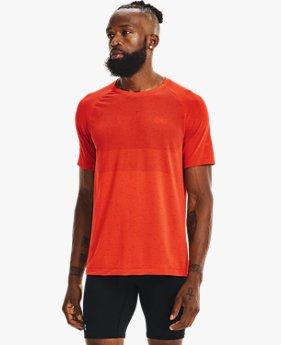 เสื้อวิ่งแขนสั้น UA Vanish Seamless สำหรับผู้ชาย