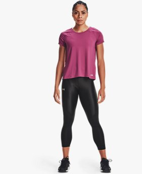 Damen UA Iso-Chill Run 7/8 Tights