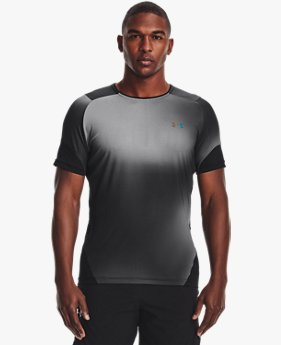 Men's UA RUSH™ HeatGear® 2.0 Print Short Sleeve