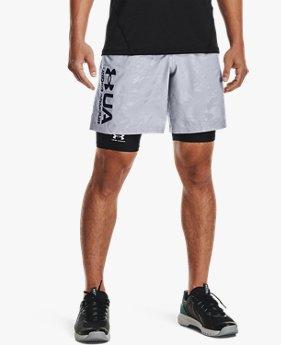 Men's UA Woven Emboss Shorts