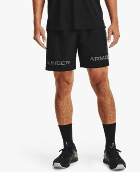 Men's UA Woven Graphic Wordmark Shorts