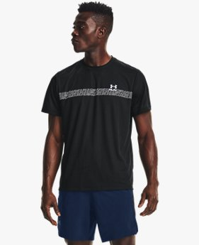 Men's UA Speed Stride Graphic Short Sleeve