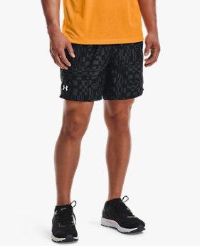 Herren UA Speed Stride Shorts mit Print