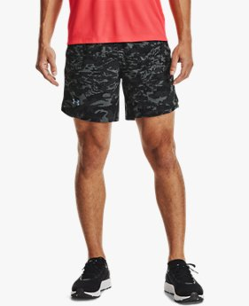 "Men's UA Launch Run 7"" Print Shorts"