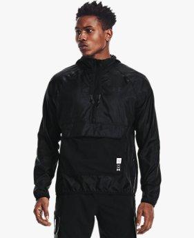 남성 UA 런 애니웨어 아노락 재킷