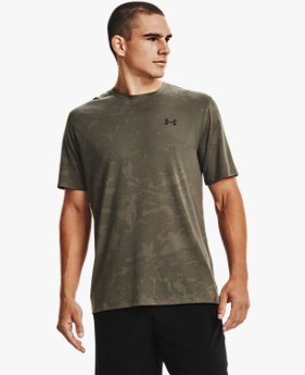 Men's UA Training Vent Camo Short Sleeve